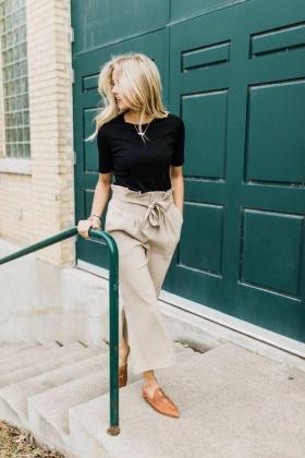 El modelo de pantalón que promete una talla menos.