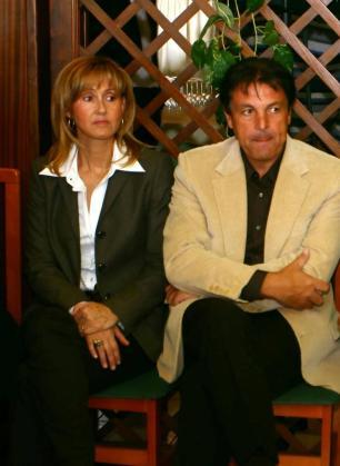 Los padres de Rafa Nadal, en una imagen de archivo.