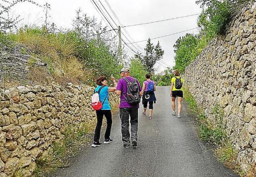 Imagen de la ruta solidaria celebrada el pasado domingo que destinará lo recaudado a la ONG 'No more walking'.