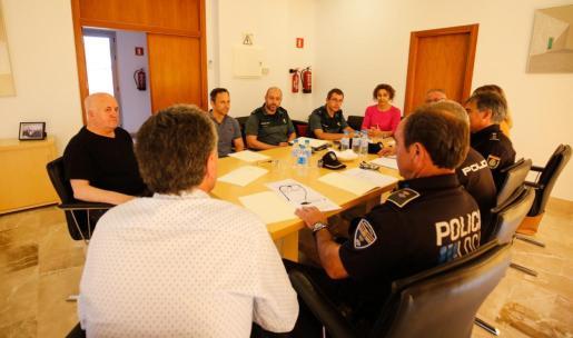Reunión de la Mesa de Seguridad de Sant Joan