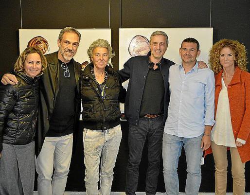 Verónica Petrone, Durval Dias, Bàrbara Bruti, José Carriles, Vicenç Mulet y Ana García.
