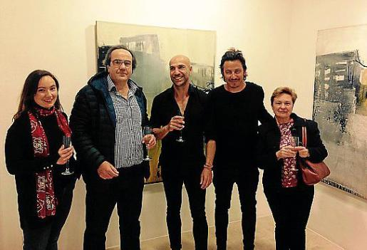 Clara Soberats, Fernando Soberats, Jorge Cabral, Miquel Fuster y Antònia Garau.