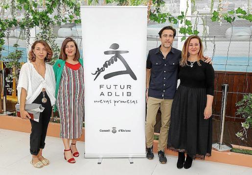 Cuatro ibicencos en Futur Adlib 2018.