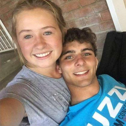 Imagen de Sharnelle i Xander cuando aún eran pareja.