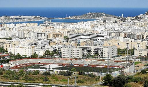 Vista general de Ibiza