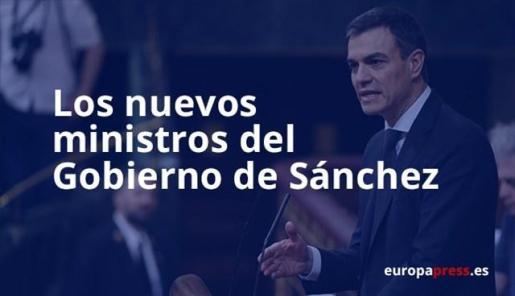 Estos son los nuevos ministros de Pedro Sánchez confirmados hasta ahora.