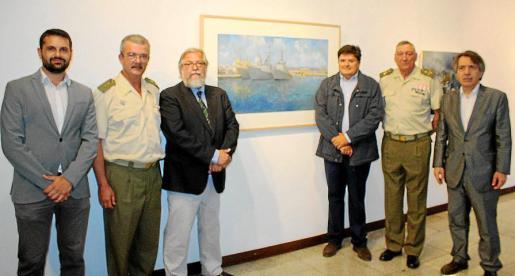 Carlos Tarancón, Teodoro Pou, Ricardo Recio, Llorenç Gual, Juan Cifuentes y Xavier Pericay.