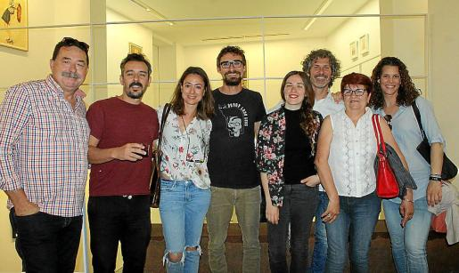 Antonio Cabello, Eduard Bagur, Damiana Amengual, Pablo Jiménez, Ana Cabello, Luis Velasco, Teresa Castell y Olimpia Velasco.