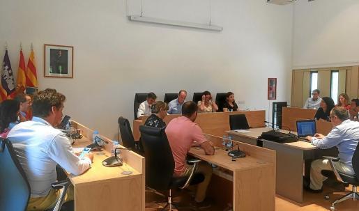 Pleno del Consell en un momento del debate del estado de Formentera.