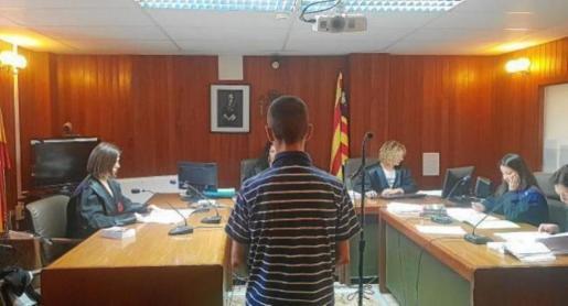 Imagen del acusado durante la celebración de la vista oral, el pasado 9 de mayo.
