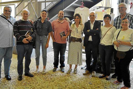 Guillem Crespí, Joan Escanyelles, Marta Fiol, Pere Pol, Polita Crespí, David Ginard, Margalida Homar, Toni Ramis y Catalina Alorda.
