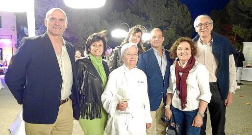 Antonio Ortiz, María José Guerrero, Margalida Alemany, Paula Fernández, Marc Ponsetí, Ana Morro y Pedro Comas.