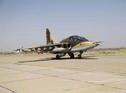Irak lanza un ataque aéreo contra Estado Islámico en Siria.