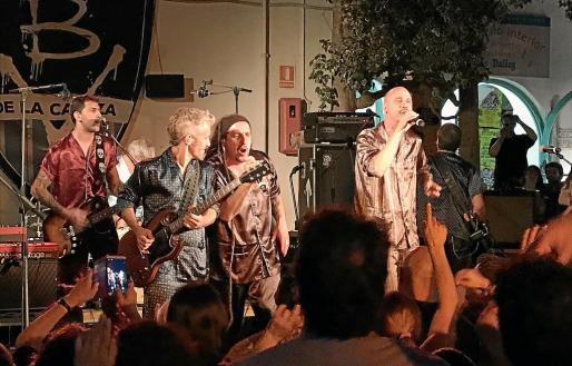 Imagen del show celebrado el jueves por la noche en Las Dalias.