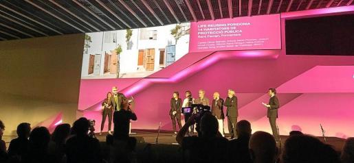 La Asociación Arquinfad del Fomento de las Artes y del Diseño ha reconocido los méritos del proyecto Life Reusing Posidonia.