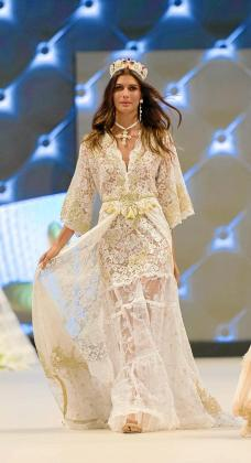 Montoya brilló con cada uno de los vestidos.Este es de Ichiana Ibiza.