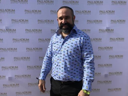 Sergio Zertuche, director de Marketing y Ventas de Palladium Hotel Group.