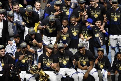 Golden State Warriors, campeón de la NBA.