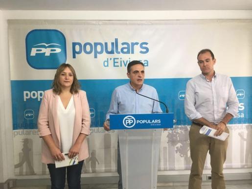 Presentación del programa de la Conferencia Política anual del PP de Ibiza.