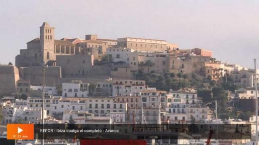 Captura de pantalla del avance del reportaje sobre la sobreocupación y falta de vivienda en Ibiza.