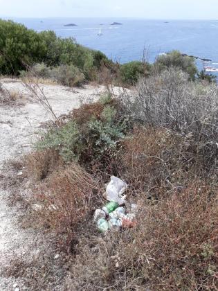Imagen aportada por EPIC sobre la suciedad en esta zona.