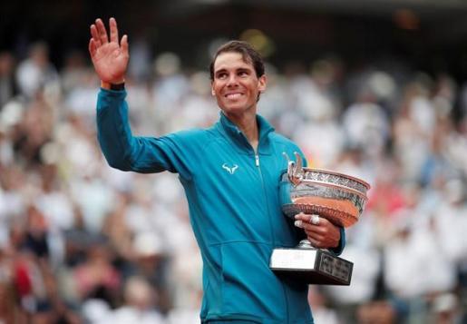 Nadal conquista su undécimo Roland Garros tras desbordar a Thiem.