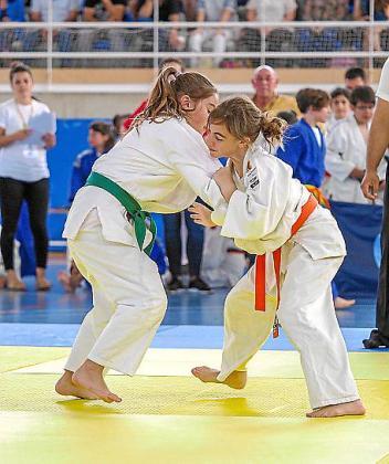 Una imagen de la competición celebrada a lo largo del fin de semana en el pabellón de Can Guerxo, en Sant Jordi.