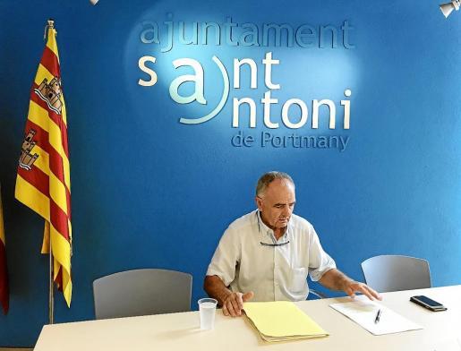 El concejal de Mobilitat explicó en rueda de prensa los cambios en materia de movilidad de cara al verano.