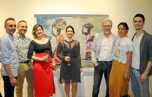 Daniel Maraver, Daniel Fernández, Cristina Jurado, Pilar Ollers, Luis Maraver, Marina Calero y José Maraver.