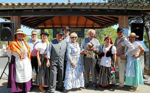 Soledad González, Álvaro Gómez, Cornelia Díaz, Álvaro Arenas, Manolo Rodríguez, Antònia Cladera, José Miguel Martín, Fátima Siverio, Dani Riera y Conchi Cano.