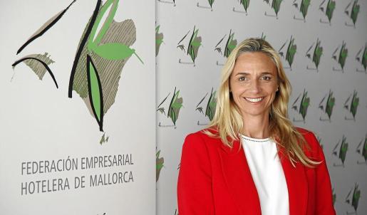 Frontera fue elegida presidenta de la Federación Hotelera de Mallorca a mediados de enero.
