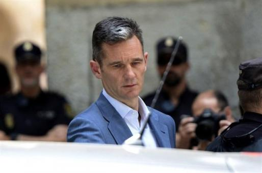 Iñaki Urdangarin ingresa en la cárcel de Brieva en Ávila.