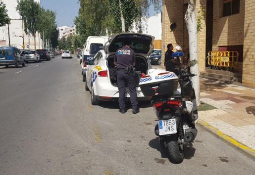 Imagen de archivo de la Policía Local de Ibiza.