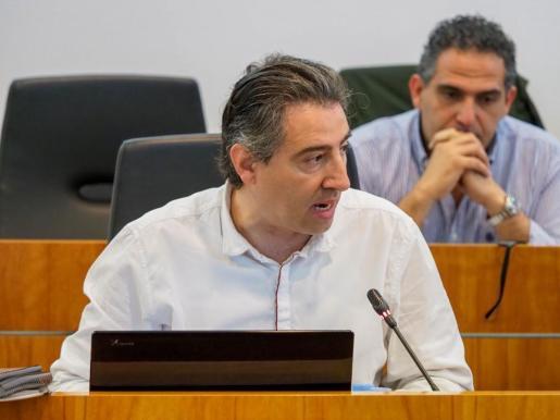 Toni Villalonga, concejal de EPIC en el Ayuntamiento de Vila.
