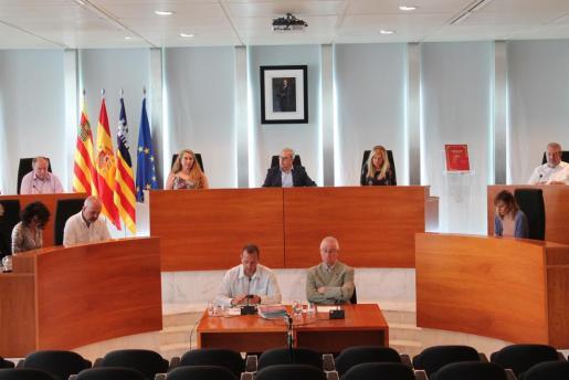 Una imagen del pleno del Consell que se ha celebrado hoy.