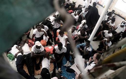 La OIM eleva a 857 los migrantes muertos este año en el Mediterráneo.