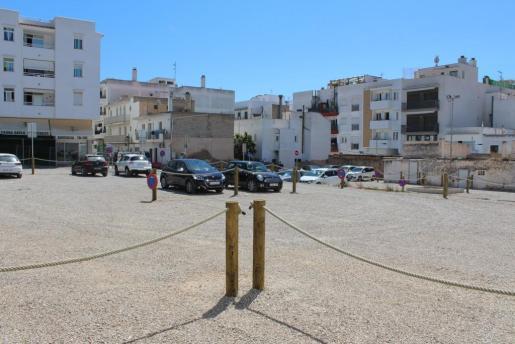Nueva zona de aparcamiento de 60 plazas que se ha acondicionado en Ca n'Espanyol.