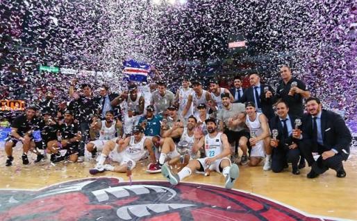 El Real Madrid cierra el doblete Liga Endesa-Euroliga.