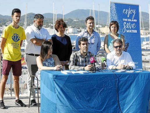 Rueda de prensa de presentación de la campaña de concienciación.
