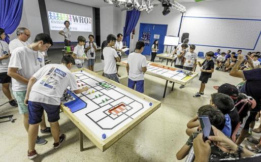 El CEIP Sant Jordi albergó el segundo torneo con 11 equipos participantes.