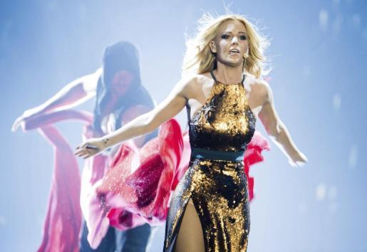 La artista madrileña, en una imagen de archivo cuando representó a España en Eurovisión.