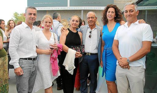José María Vives, Isabel Andina, Dolores Campoy, Marcos Frau, Concha García y Juan A. Campoy.