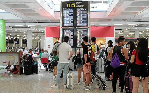 El pasado fin de semana hubo cancelaciones masivas de vuelos en Balears.