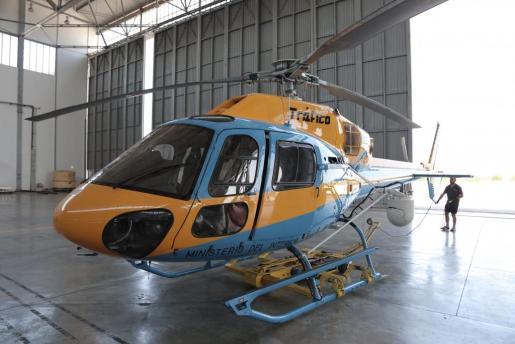 Imagen de archivo de un helicóptero de la DGT.