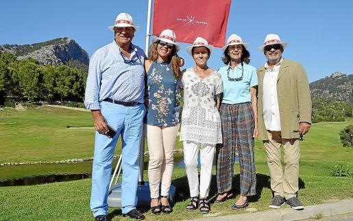 Julián Arranz, Maria Umbert, Carmen Serra, Carmen Planas y Alfons Moll.