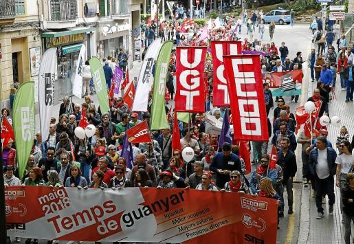 Hace tiempo que los sindicatos reclaman subidas salariales para que la reactivación de la economía llegue a todos los ciudadanos y el pasado 1 de mayo, con motivo del Día del Trabajador, se manifestaron bajo el lema 'Tiempo de ganar', en alusión a su reivindicación.