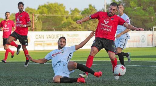 Un lance del partido entre la Peña Deportiva y el Formentera disputado la pasada temporada.