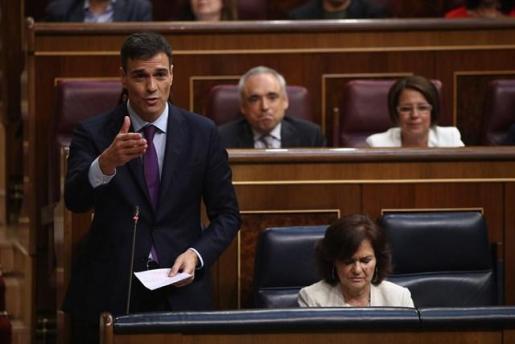 Pedro Sánchez rechaza pactar un referéndum de autodeterminación en Cataluña.