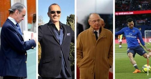 Rodrigo Rato, Miguel Bosé y Dani Alves, en la lista de morosos de Hacienda de 2018.