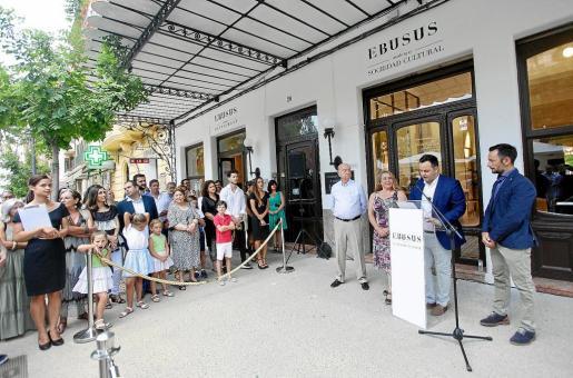 Imágenes de la inauguración que se llevó a cabo ayer y que contó con la presencia de las autoridades y los socios.